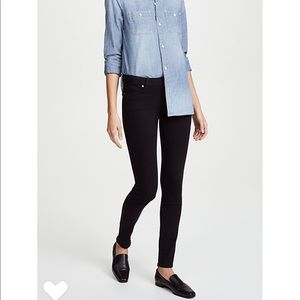 [Paige] Verdugo Ultra Skinny Black Shadow Jeans